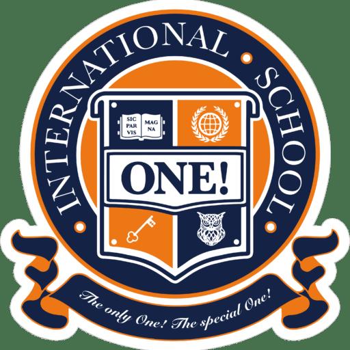 Лого сети частных школ ONE