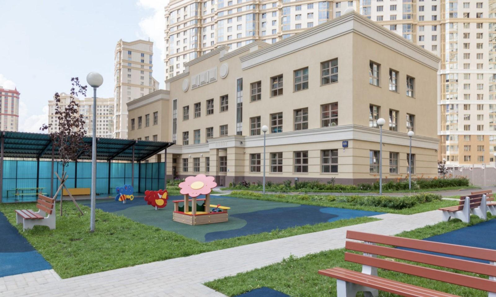 Здание детского сада ONE